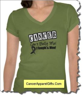 Cancer Can't Bully Me Shirts for warriors from CancerApparel.Com